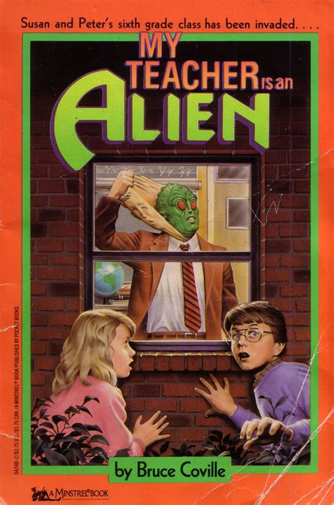 My Teacher Is an Alien | Scary Kids' Books From the '80s