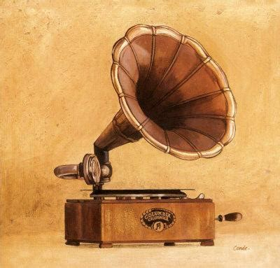 Antique Phonograph Art by Conde at AllPosters