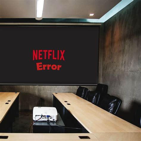 Why Netflix won't play on the projector?