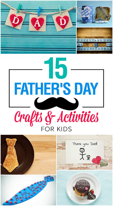 15 Wonderful Father's Day Crafts And Activities For Kids