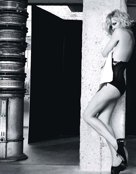 Charlize Theron Gets Undressed For Russian Elle (PHOTOS