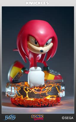 Sonic the Hedgehog - Knuckles the Echidna - Classic Sonic