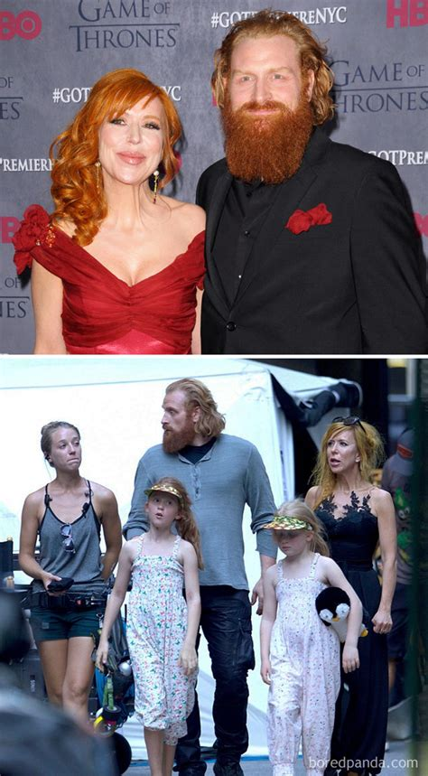 17 Adorable Photos of Game of Thrones Actors With Real