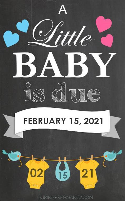 Due Date: February 15, 2021 | During Pregnancy