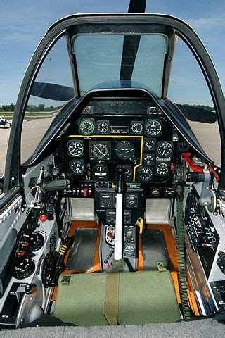 P-51 Cockpit (With images)   Cockpit, Wwii aircraft