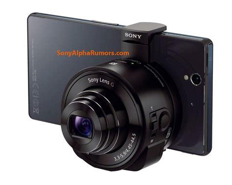 First pictures of Sony's external 'lens camera' outed