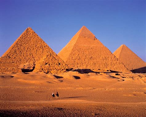 Two previously unknown sets of heavily worn down pyramids