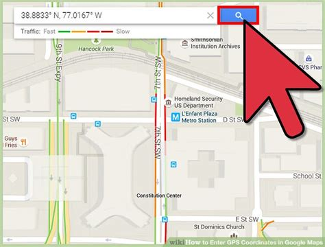 How to Enter GPS Coordinates in Google Maps: 6 Steps