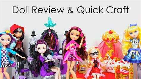 Doll Review: Ever After High: Getting Fairest, Cerise