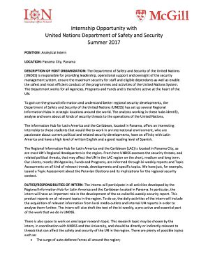 united nations cover letter format - Edit & Fill Out Top