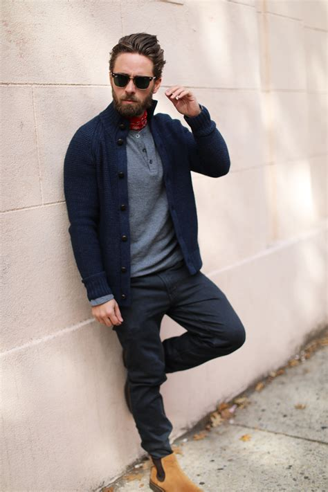 How to wear a cardigan sweater: men's outfit guide
