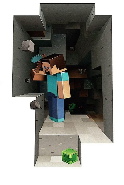 Minecraft Steve Poster – My Hot Posters