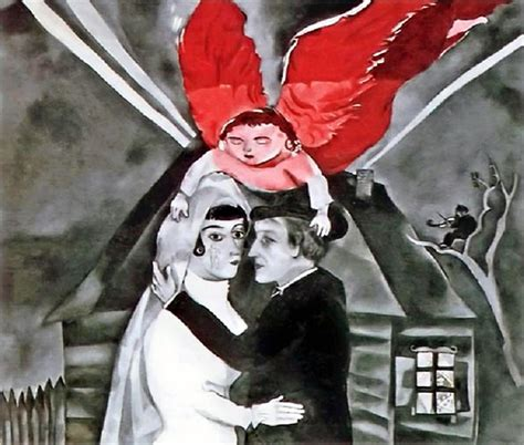 The Flying Lovers, Bella and Marc Chagall