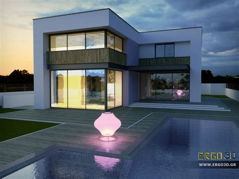 ms house rendered with #octanerender from #sketchup model