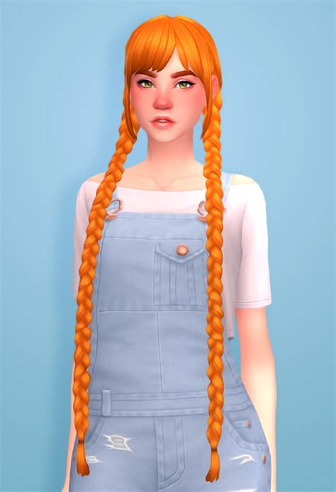 simmandy: Cute and soft braids ♥ (~oh look