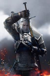 The Witcher 3 Wild Hunt Geralt of Rivia Poster – My Hot